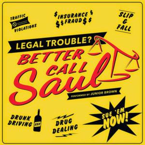 BROWN, JUNIOR - Better Call Saul / Lead Guitar Version